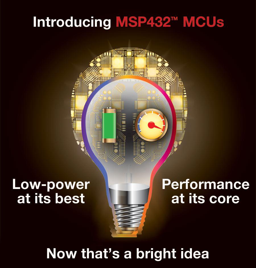 Texas Instruments introduces 32-bit MSP432™ microcontrollers (MCUs