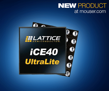 Compact, Ultra-Low-Power Lattice iCE40 UltraLite FPGAs for