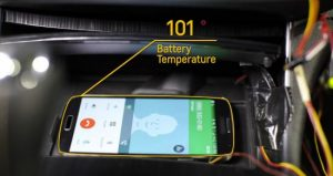 Chevy's Active Phone Cooling System. (Images via Chevrolet)