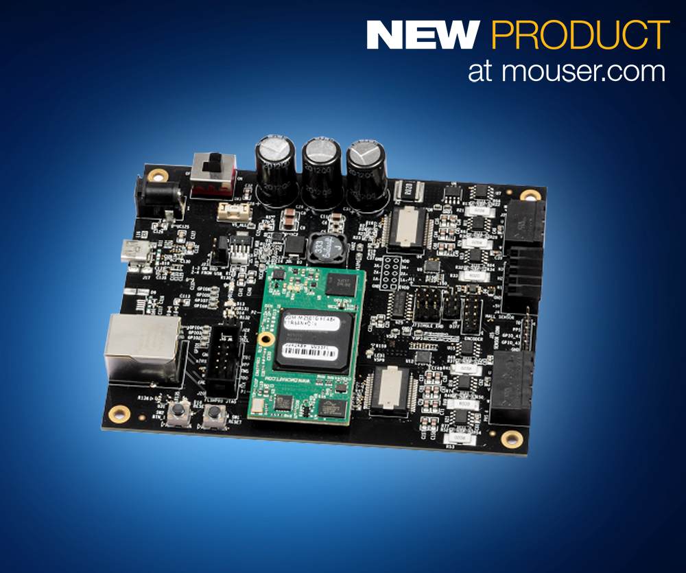 Microsemi smartfusion2 dual axis motor control starter kit for Smart motor control center