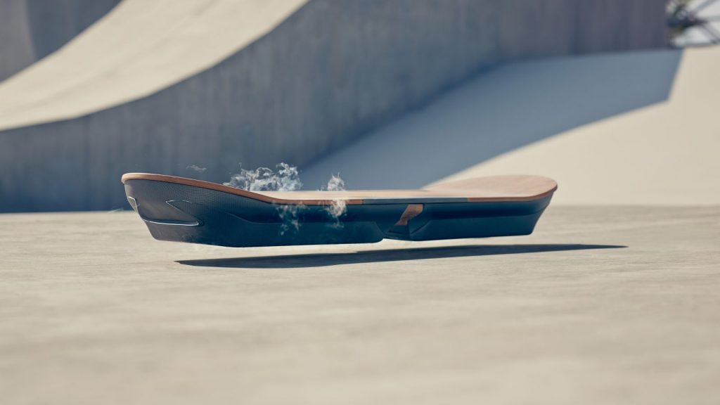 The Lexus Hoverboard. (Image via Lexus International)