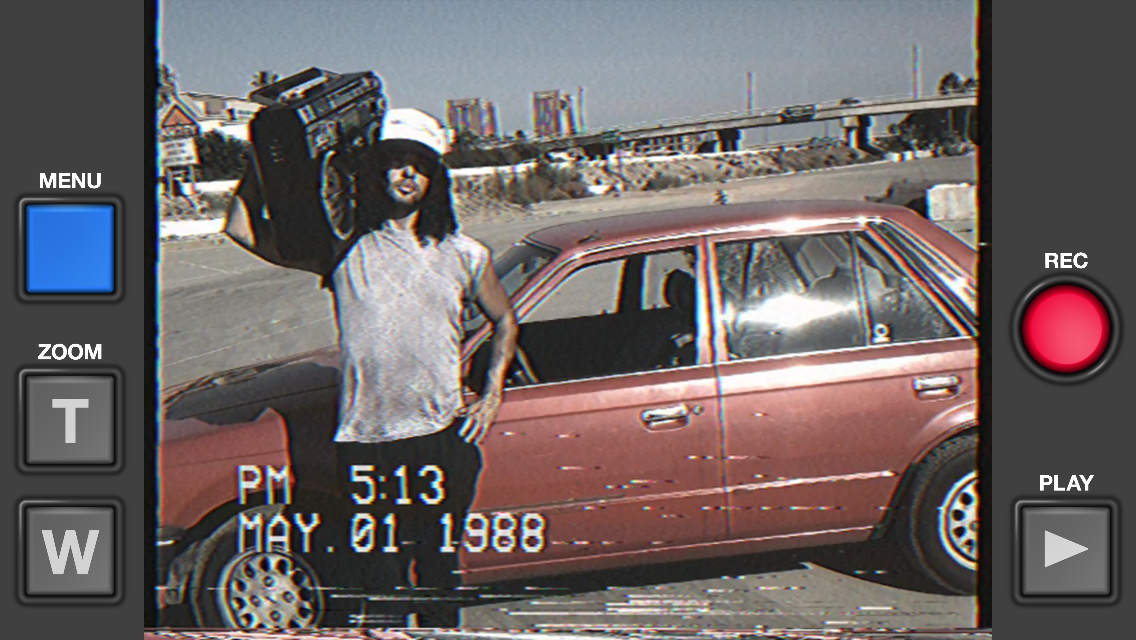 Go Retro: This iPhone App Lets You Record Videos Like Your Old VHS ...