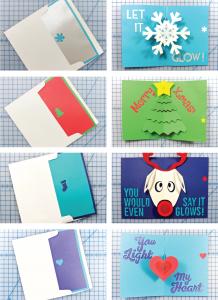 Circuit Sentiments greeting cards. (Image via Circuit Sentiments)