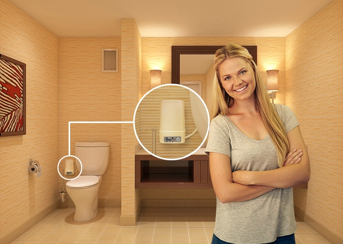This Toilet Technology Removes The Embarrassing Odor From