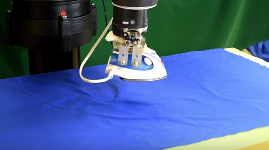 Rejoice Researchers Develop Robot That Irons Clothes