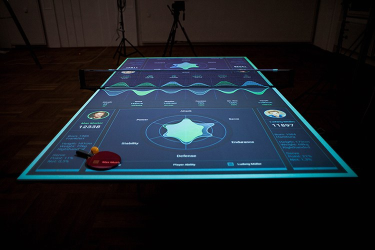 ... Ping Pong Table. (Image Via Thomas Mayer)