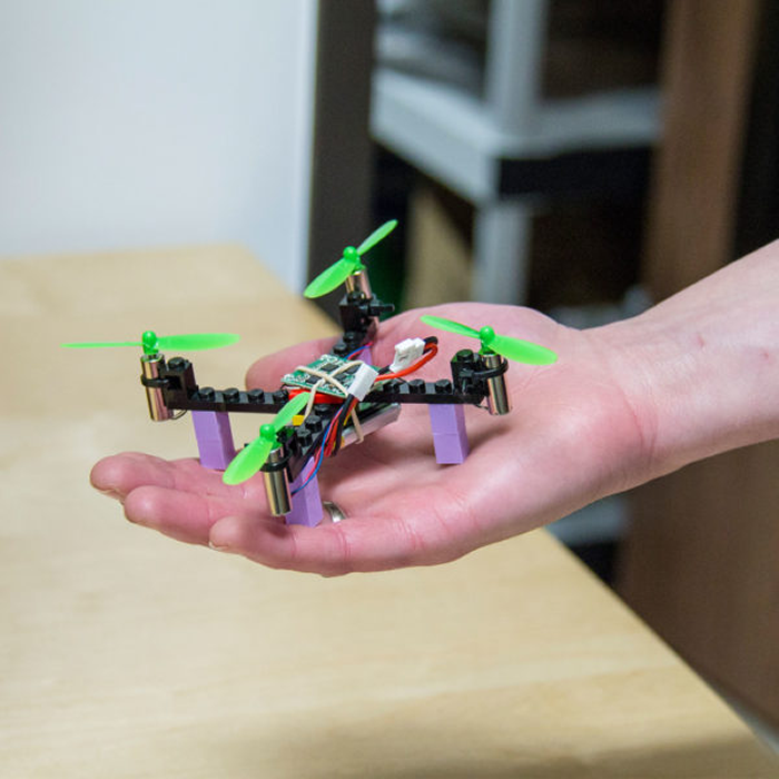 Everything Is Awesome About The Diy Mini Lego Drone Kit