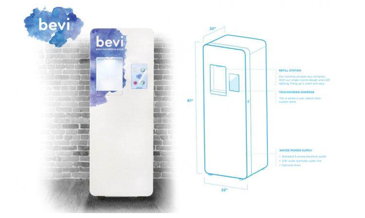 Next gen water cooler has saved over 4 million plastic bottles