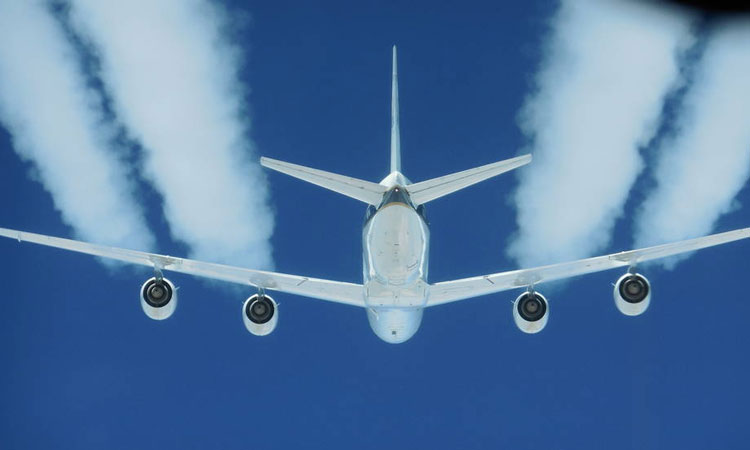 Jet engine pollution reduced with biofuels