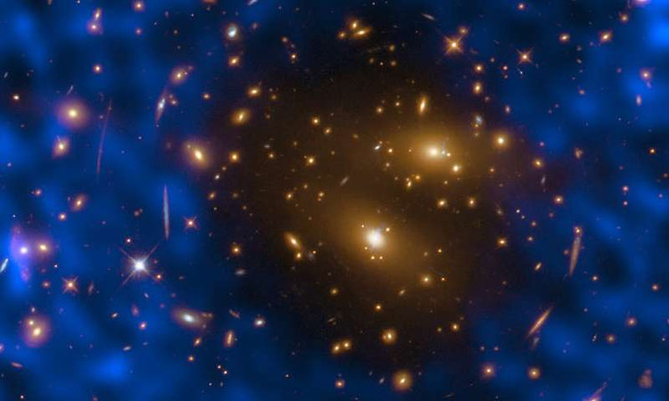 Image of cosmic hole proves ALMA telescope's ability