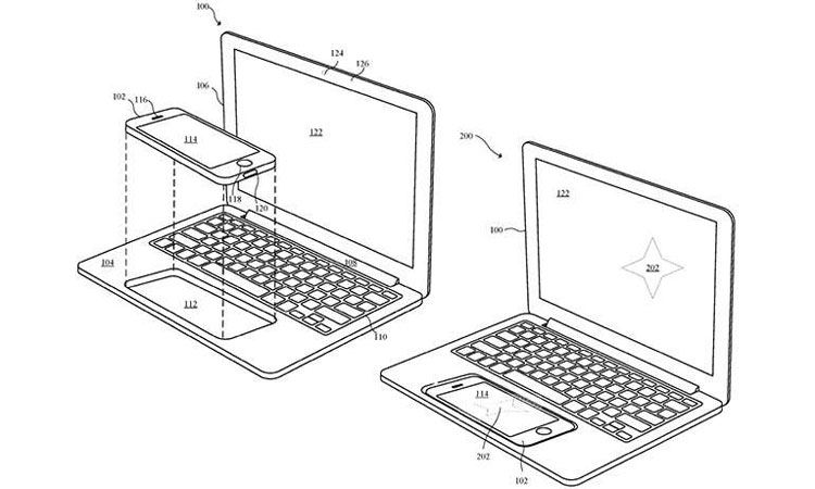 a smartphone powered laptop