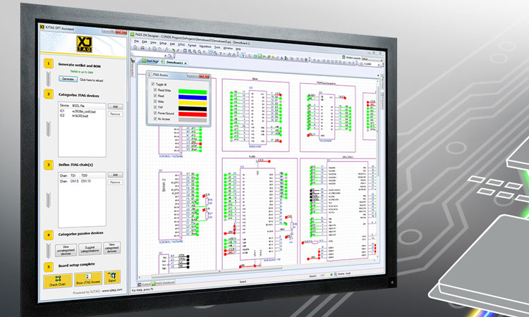 Software for PADS Schematic Design increases Test and Debug capabilities