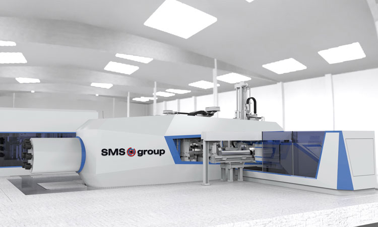 Whitehall Industries once again backs press technology from SMS group