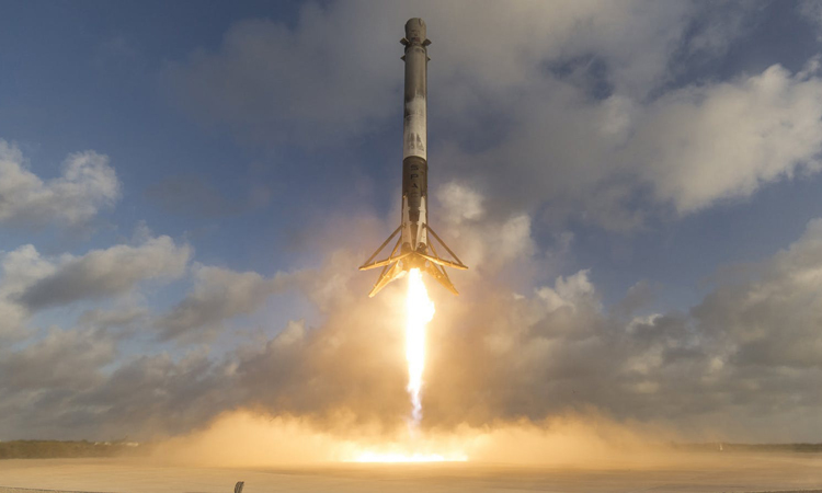 Imagine waiting for a rocket, and then eight get sent at once
