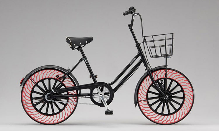 Airless tires? On your bike!