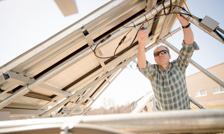 Combating national security risks with solar energy in the power grid