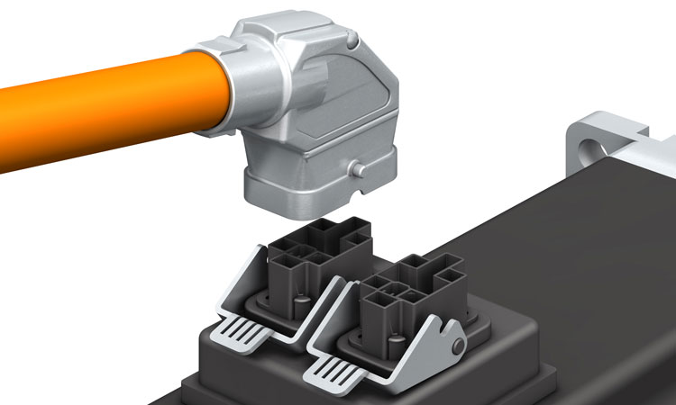 Servo Motor Solutions Extended With Hybrid Connectors