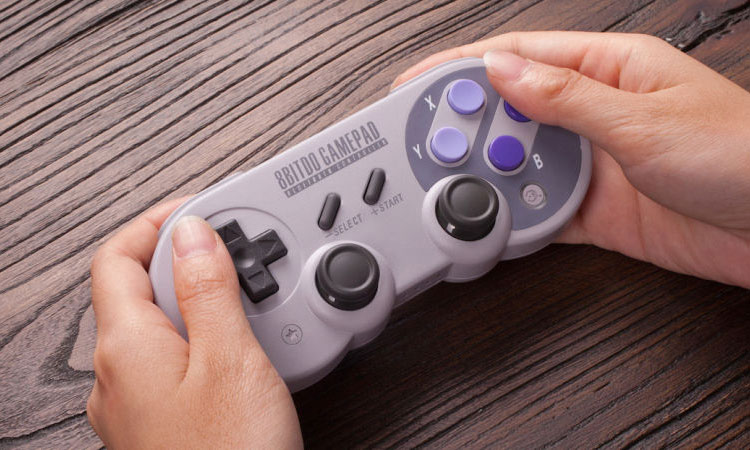 how to connect snes 30 to switch