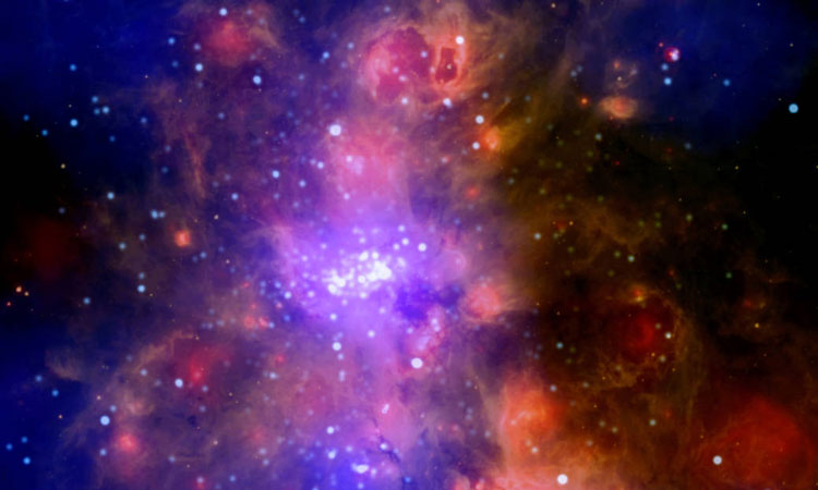 NASA Look Into Giant Molecular Space Clouds