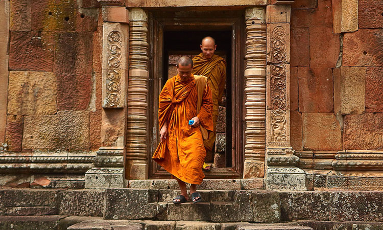 Smart ID Cards For Buddhist Monks Behaving Badly