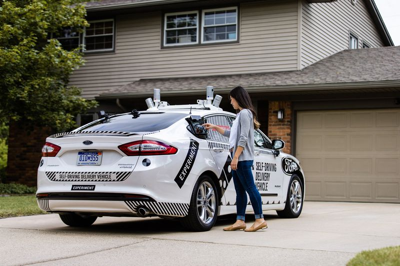 Self-driving Pizza Delivery Cars Are Being Tested By Domino's And Ford