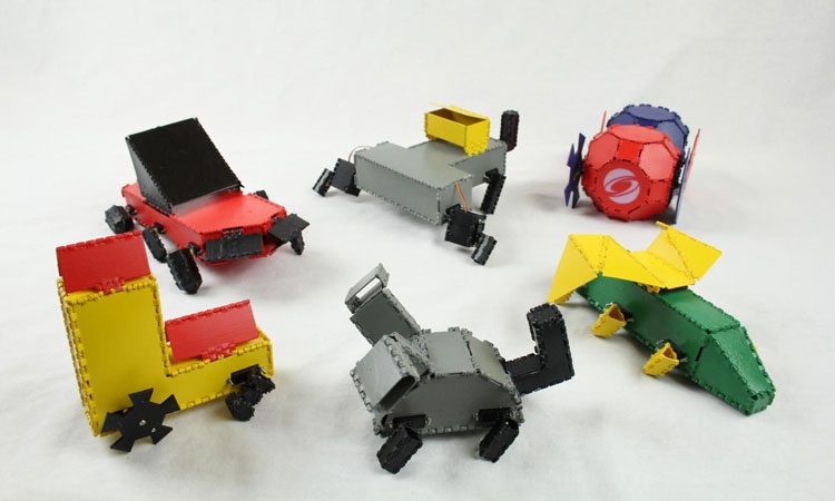 Design Robots In Minutes With 'Interactive Robogami'