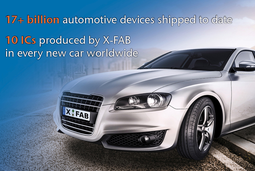 IATF 16949 automotive quality certification from X-FAB