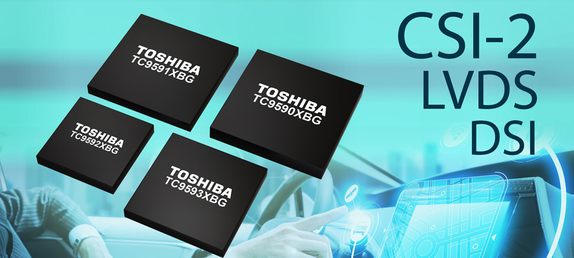 Toshiba releases interface bridge devices for automotive